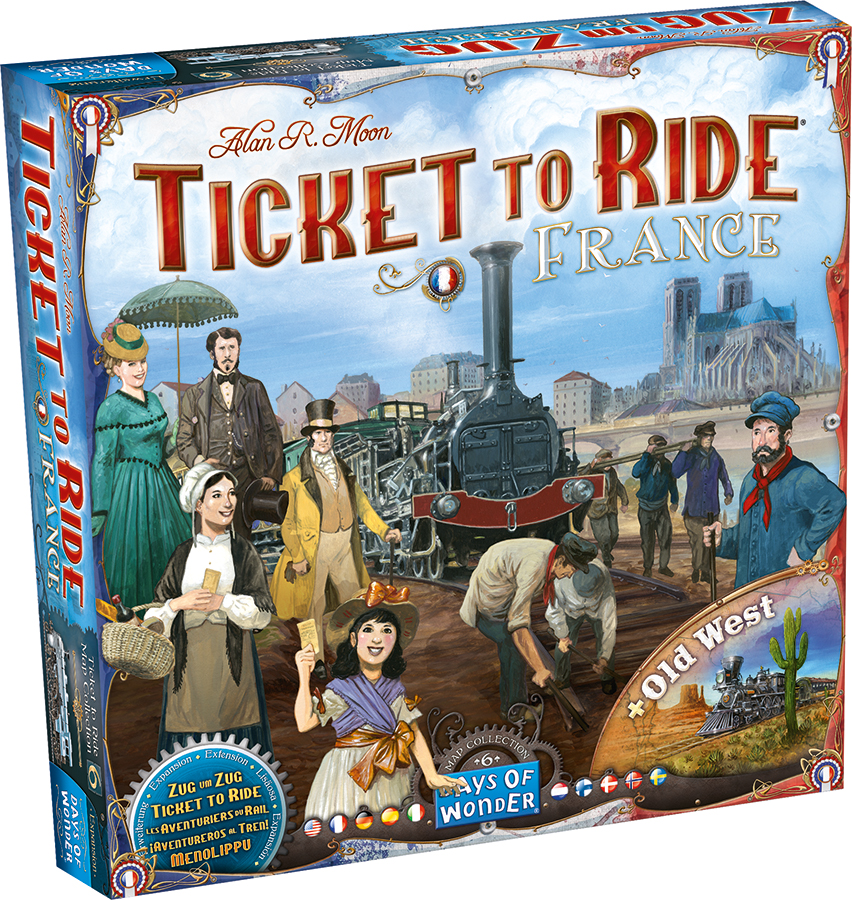 Ticket To Ride: Map Collection V6 - France And Old West Box Front