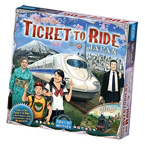 Ticket To Ride: Map Collection V7 - Japan And Italy