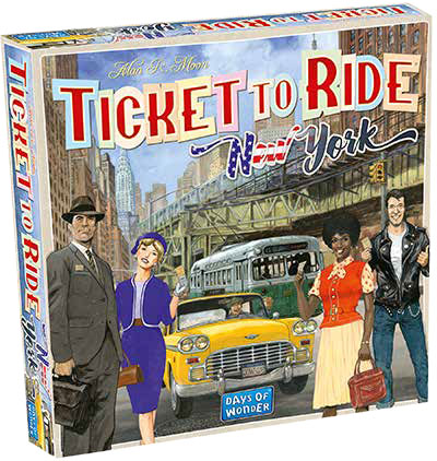 Ticket To Ride: New York Game Box