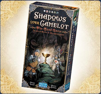 Shadows Over Camelot: The Card Game Box Front