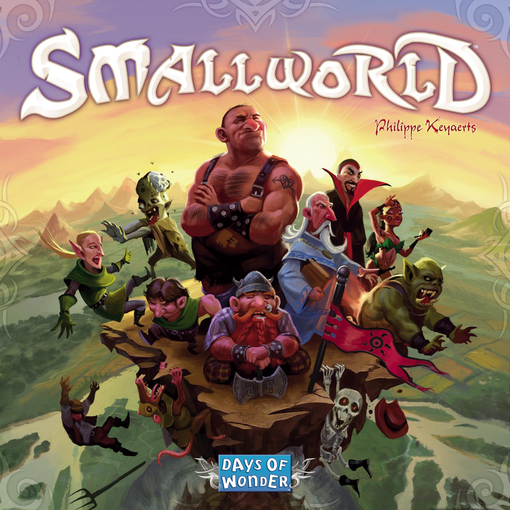 Small World Box Front