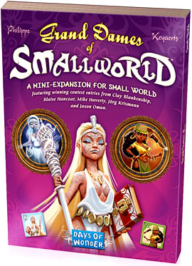 Small World: Grand Dames Expansion Box Front