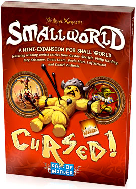 Small World: Cursed Expansion Box Front
