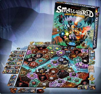Small World: Underground Box Front