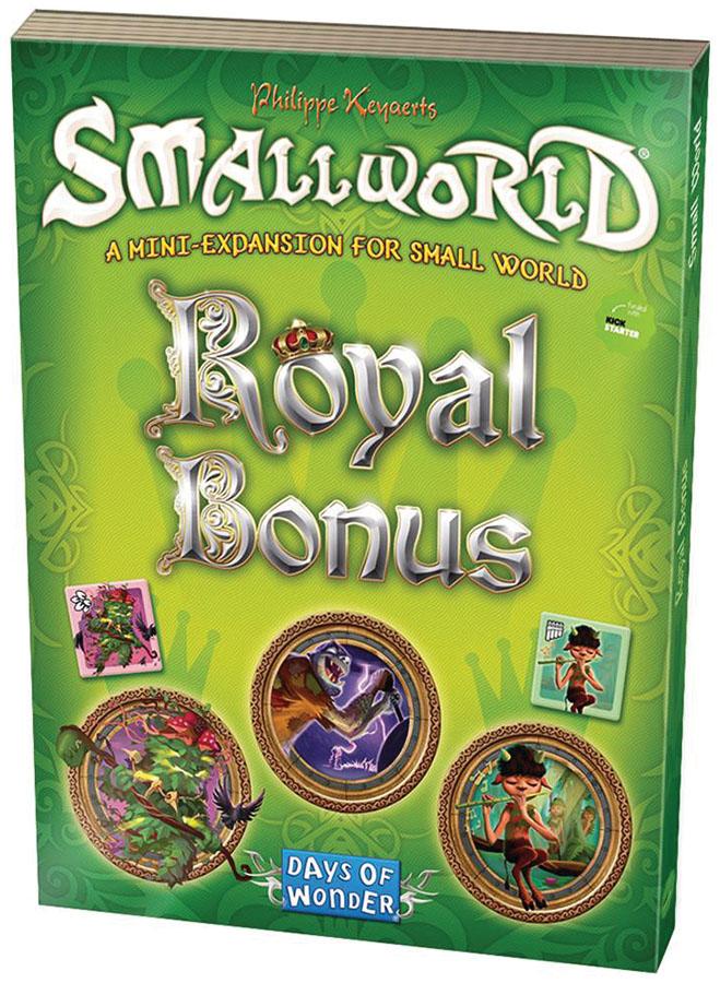 Small World: Royal Bonus Expansion Box Front