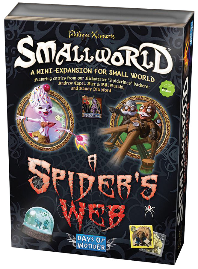 Small World: A Spider`s Web Expansion Box Front