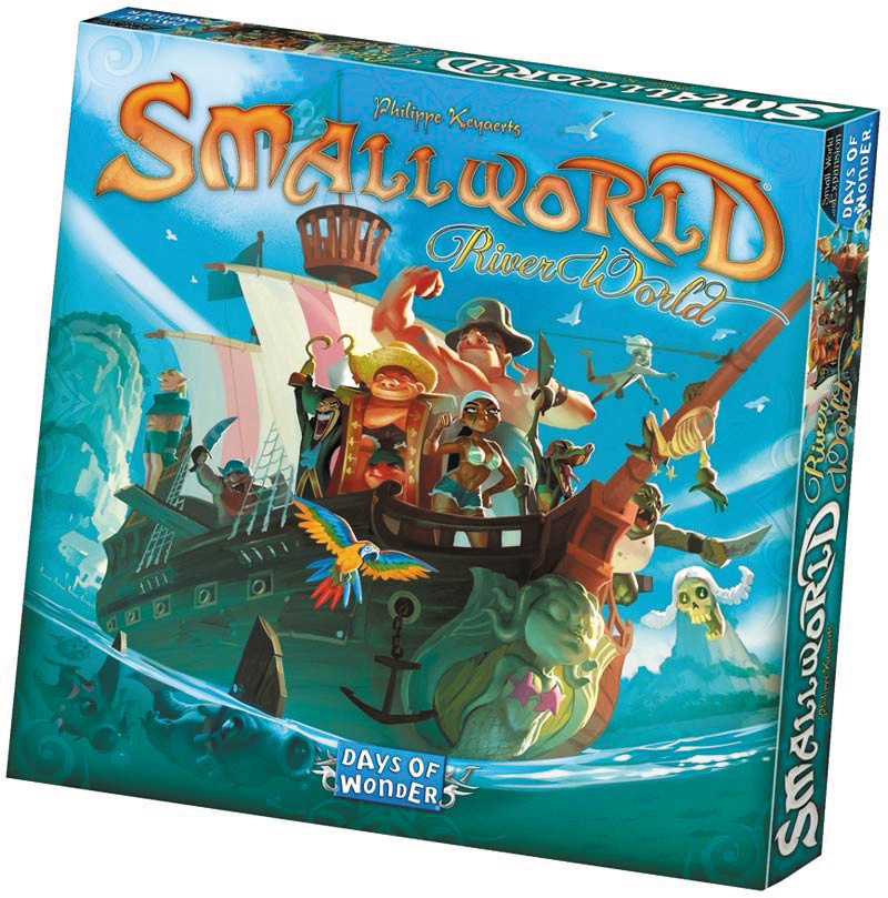 Small World: River World Expansion Box Front