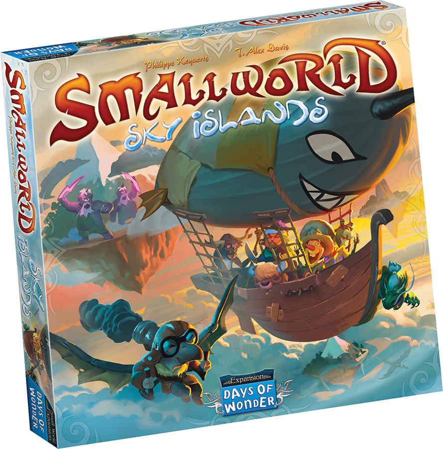 Small World: Sky Islands Expansion Box Front