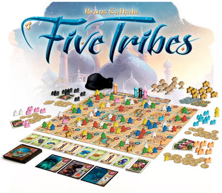 Five Tribes Box Front