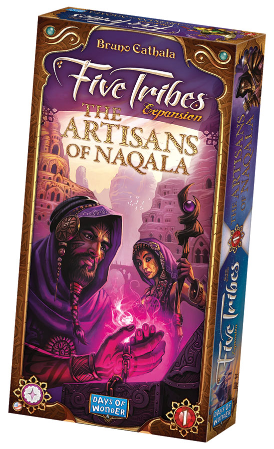 Five Tribes: The Artisans Of Naqala Expansion Box Front