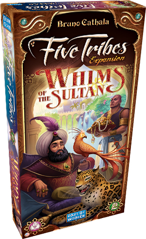 Five Tribes: Whims Of The Sultan Expansion Box Front