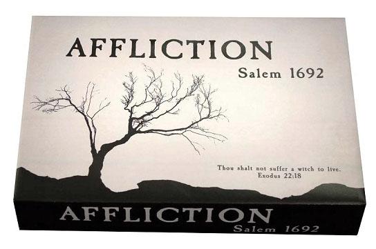 Affliction: Salem 1692 Game Box