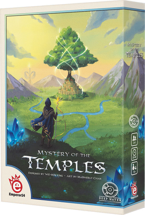 Mystery Of The Temples Box Front