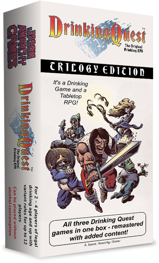 Drinking Quest: Trilogy Edition Remastered Box Front