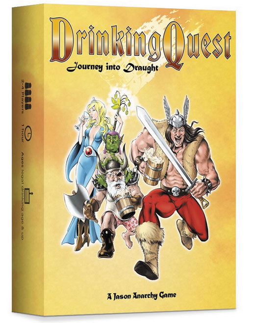Drinking Quest: Journey Into Draught Box Front