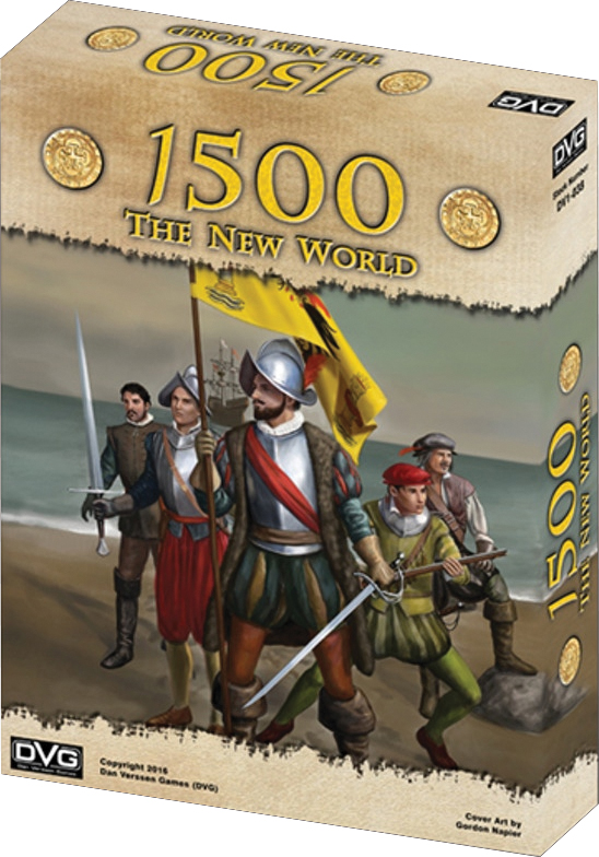 1500 - The New World Box Front