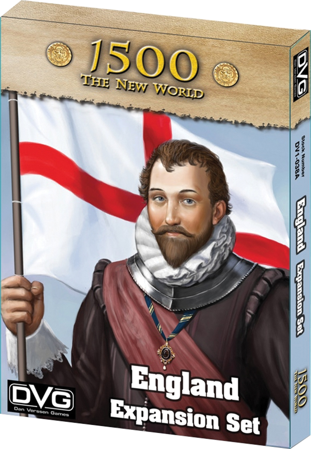 1500 - The New World: England Expansion Box Front