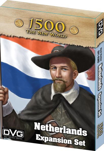 1500 - The New World: Netherlands Expansion Box Front