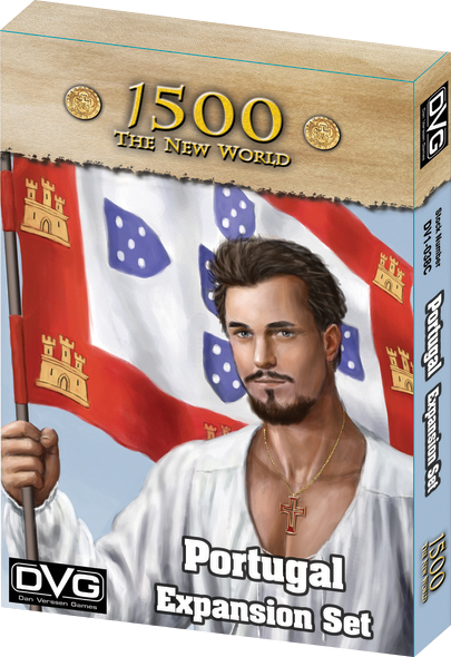 1500 - The New World: Portugal Expansion Box Front