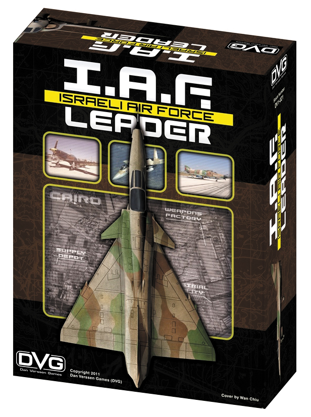 Israeli Air Force Leader Box Front
