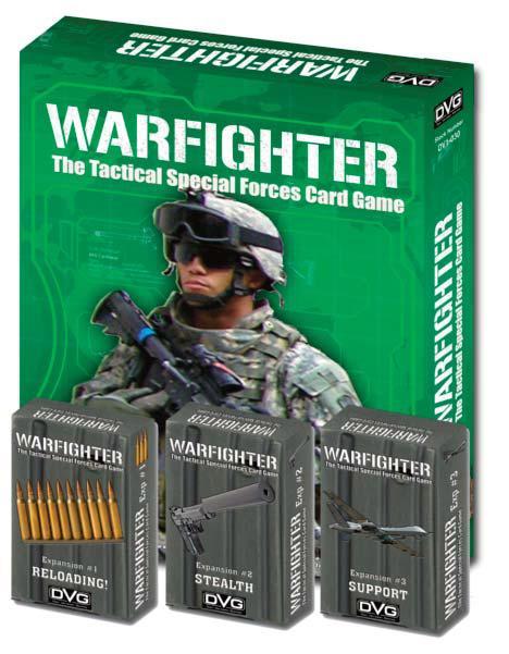 Warfighter Expansion 4: Bonus Bullet Dice Box Front
