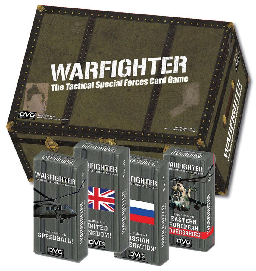 Warfighter Expansion 5: Speedball Box Front