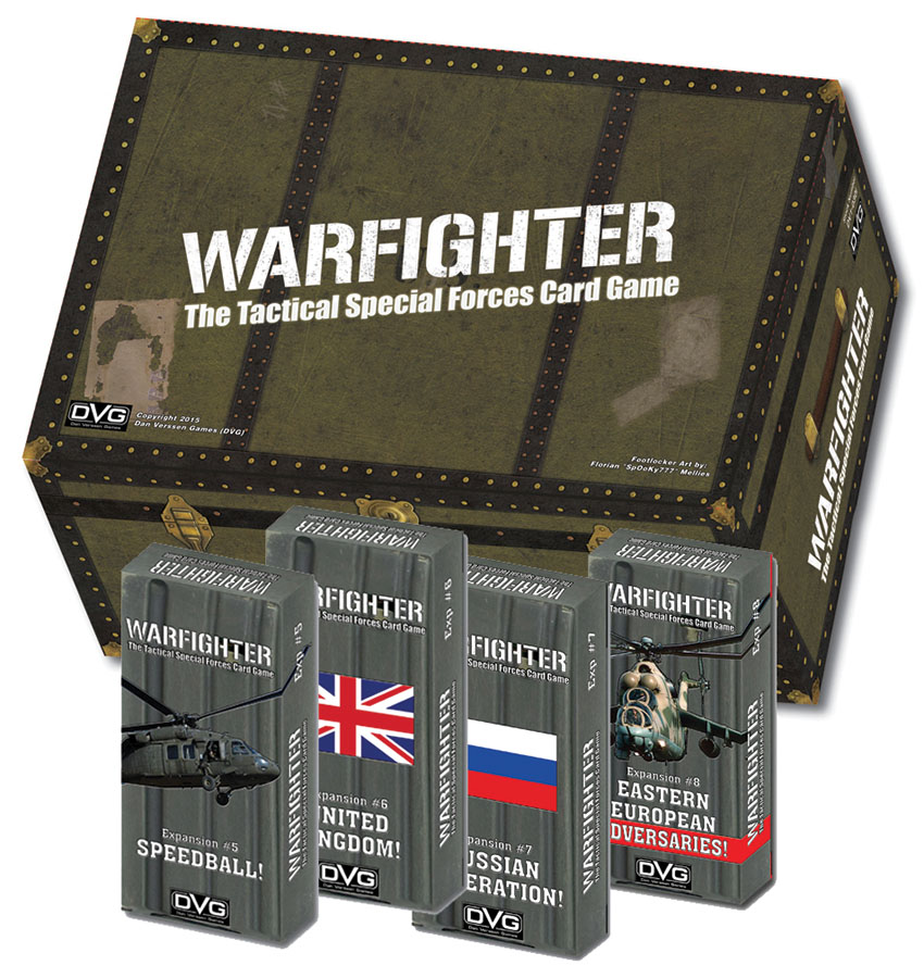 Warfighter Expansion 8: Eastern Europe Adversaries Box Front