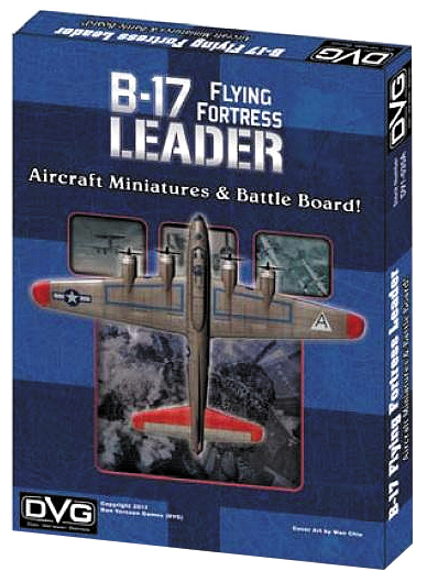 B-17 Flying Fortress Leader Aircraft Miniatures Box Front