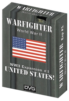 Warfighter Wwii Expansion 1: Usa #1 Box Front