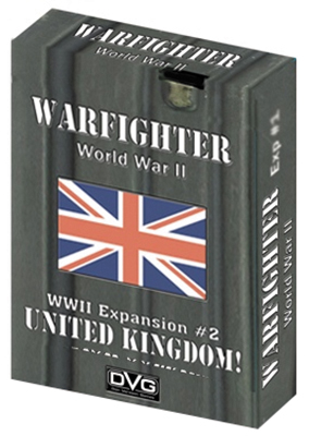 Warfighter Wwii Expansion 2: Uk #1 Box Front