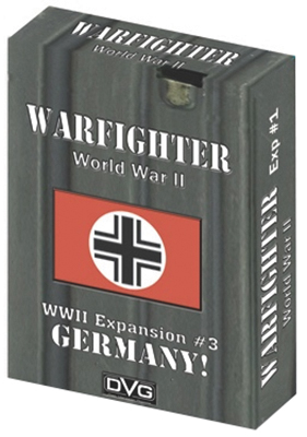 Warfighter Wwii Expansion 3: Germany #1 Box Front