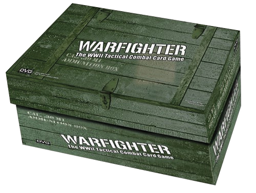 Warfighter Wwii: Card Decks From #5 Ammo Box Box Front