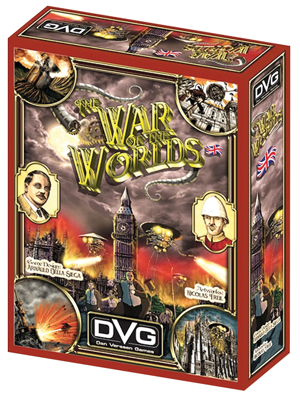 War Of The Worlds: England Box Front