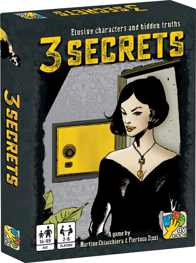 3 Secrets Box Front