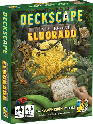 Deckscape: The Mystery Of Eldorado Game Box