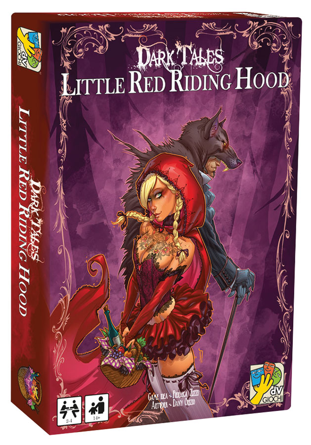 Dark Tales: Little Red Riding Hood Expansion Box Front
