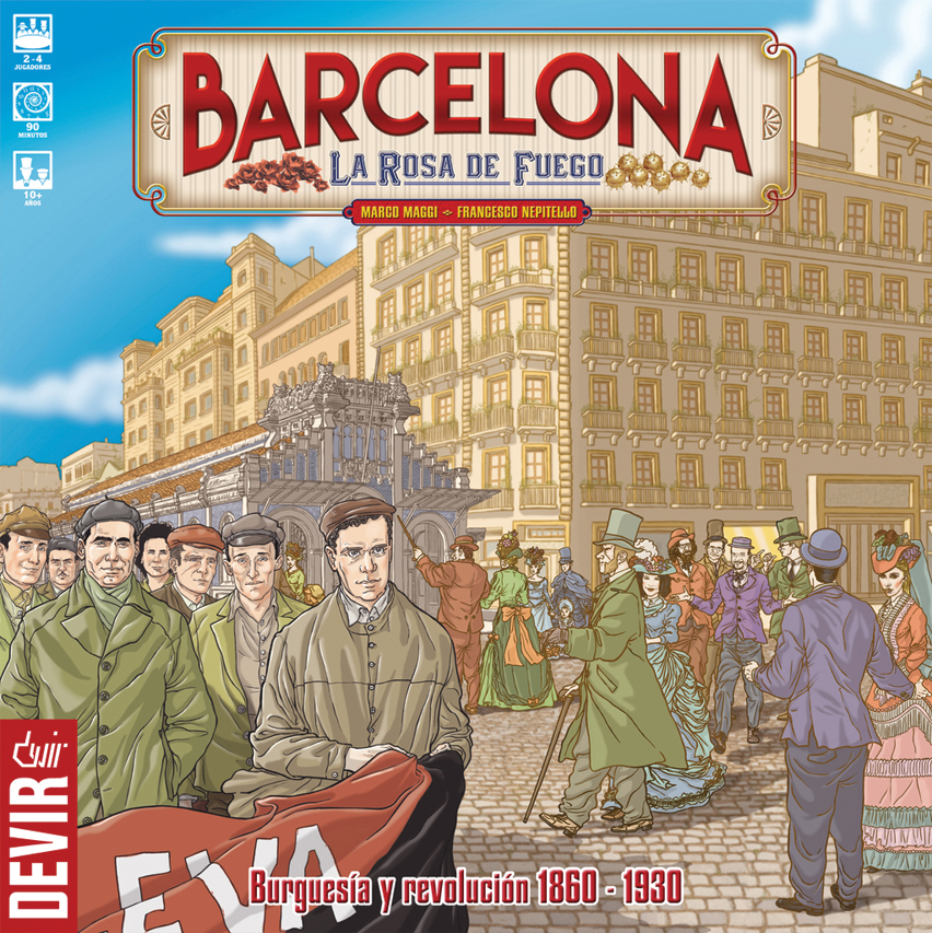 Barcelona: The Rose Of Fire Box Front