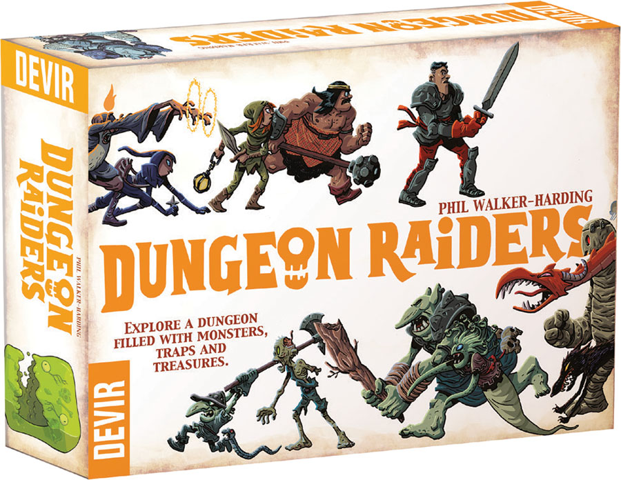 Dungeon Raiders: 2nd Edition Box Front