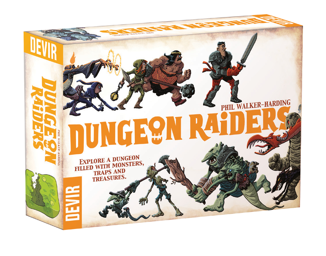 Dungeon Raiders: 2nd Edition Demo Copy Box Front