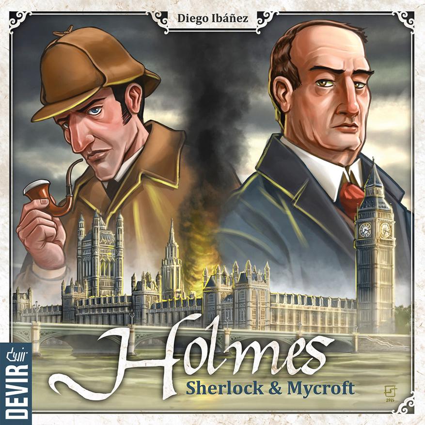 Holmes: Sherlock & Mycroft Box Front
