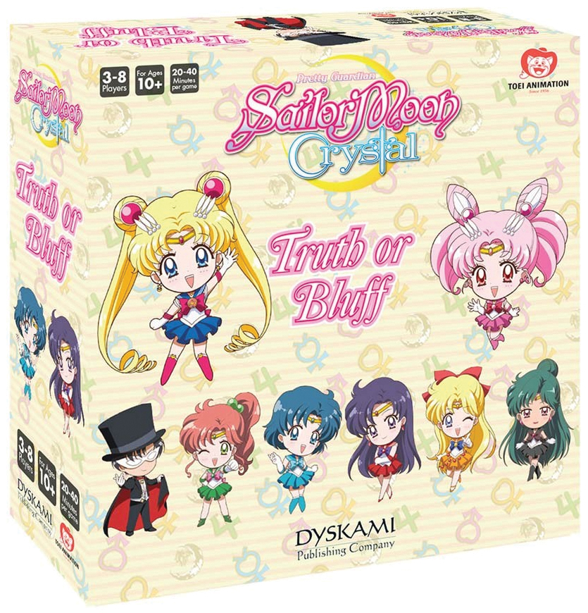 Sailor Moon Crystal: Truth Or Bluff Box Front