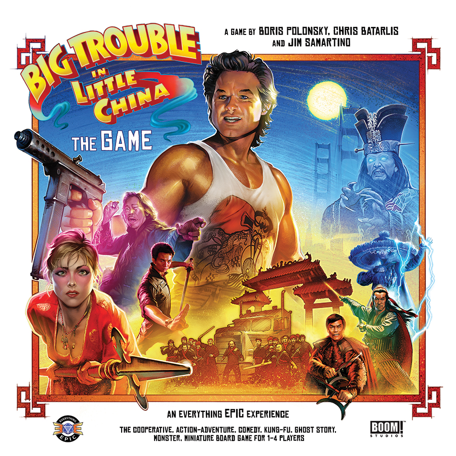 Big Trouble In Little China The Game Box Front