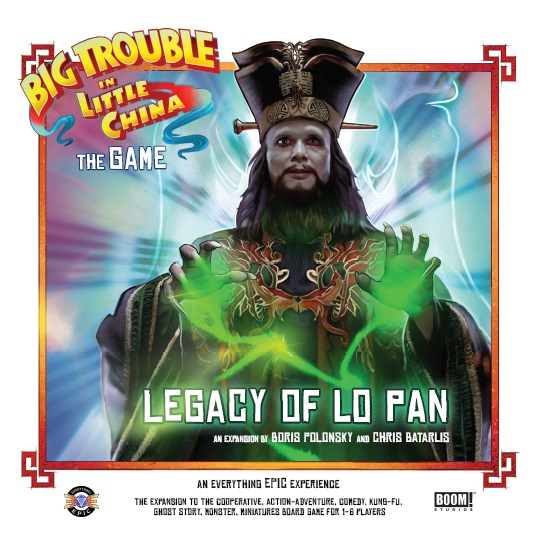 Big Trouble In Little China The Game - The Legacy Of Lo Pan Expansion Game Box
