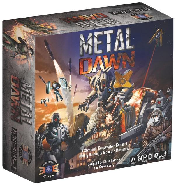 Metal Dawn Game Box