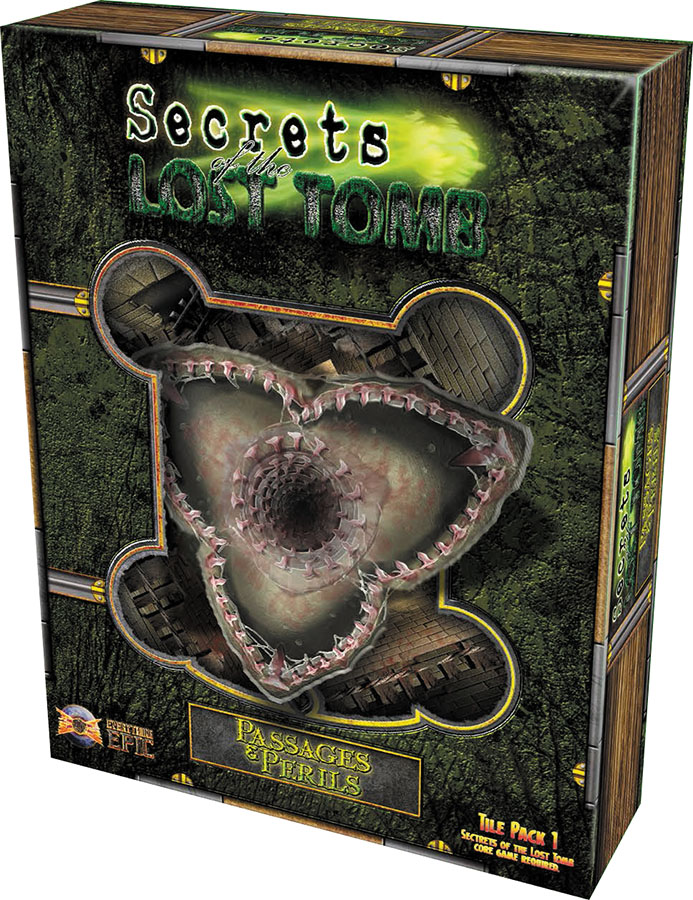 Secrets Of The Lost Tomb: Passages And Perils - Tile Pack 1 Box Front