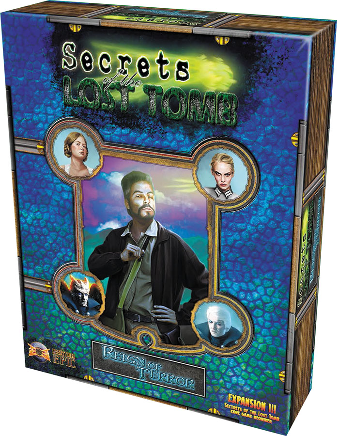 Secrets Of The Lost Tomb: Reign Of Terror Expansion 3 Box Front