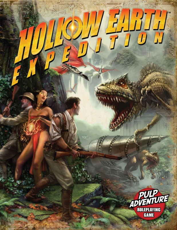 Hollow Earth Expedition Rpg (new Edition) Box Front