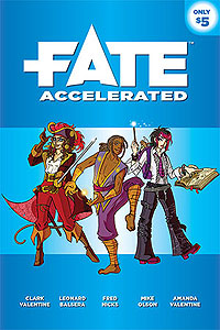 Fate Core Rpg: Fate Accelerated Box Front