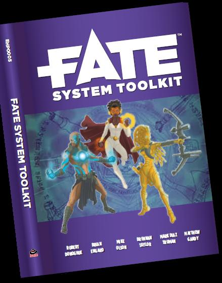 Fate Core Rpg: Fate System Toolkit Box Front