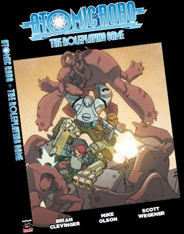 Fate Core Rpg: Atomic Robo Rpg Core Rules Box Front